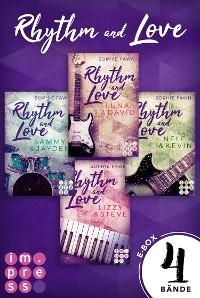 Cover Rhythm and Love: Alle Bände der berührenden Rockstar-Romance in einer E-Box!