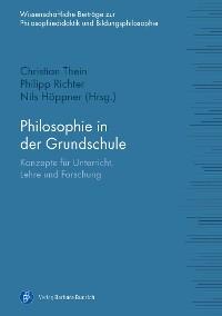Cover Philosophie in der Grundschule