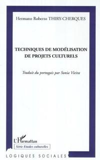 Cover Techniques de modelisation de projet culturels