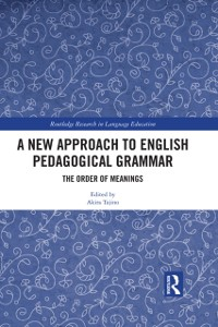 Cover New Approach to English Pedagogical Grammar