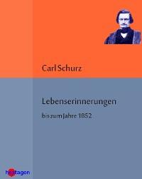 Cover Lebenserinnerungen bis zum Jahre 1852