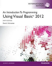 Cover Introduction to Programming with Visual Basic 2012, International Edition