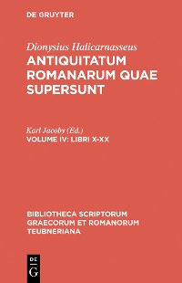 Cover Libri X–XX