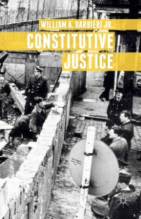 Cover Constitutive Justice