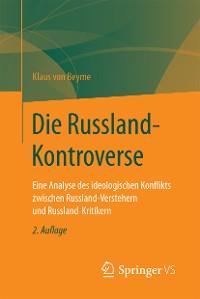 Cover Die Russland-Kontroverse