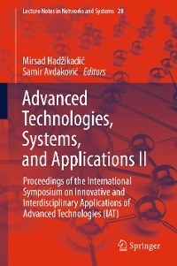 Cover Advanced Technologies, Systems, and Applications II