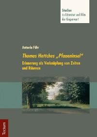 """Cover Thomas Hettches """"Pfaueninsel"""""""