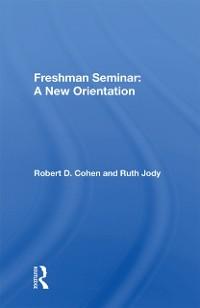 Cover Freshman Seminar