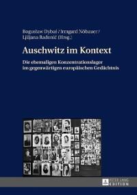 Cover Auschwitz im Kontext