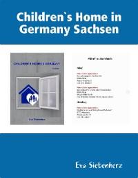Cover Children`s Home in Germany Sachsen