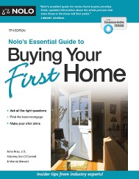 Cover Nolo's Essential Guide to Buying Your First Home