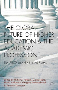 Cover The Global Future of Higher Education and the Academic Profession