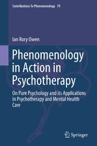 Cover Phenomenology in Action in Psychotherapy