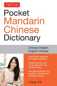 Cover Tuttle Pocket Mandarin Chinese Dictionary