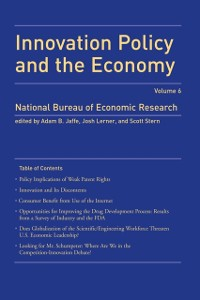 Cover Innovation Policy and the Economy