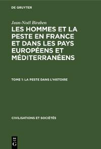 Cover La peste dans l'histoire