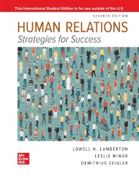 Cover ISE eBook Online Access for Human Relations