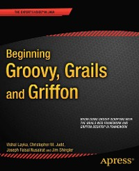 Cover Beginning Groovy, Grails and Griffon