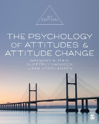 Cover The Psychology of Attitudes and Attitude Change