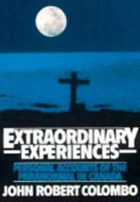 Cover Extraordinary Experiences