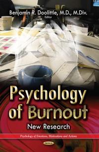 Cover Psychology of Burnout