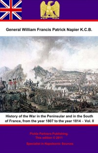 Cover History Of The War In The Peninsular And In The South Of France, From The Year 1807 To The Year 1814 - Vol. II