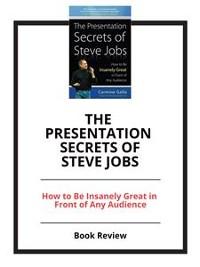 Cover The Presentation Secrets of Steve Jobs