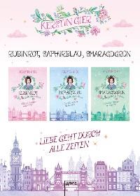 Cover Rubinrot - Saphirblau - Smaragdgrün