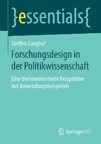 Cover Forschungsdesign in der Politikwissenschaft