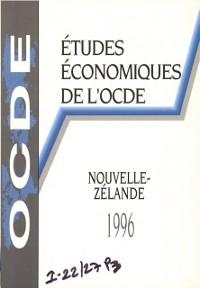 Cover Etudes economiques de l'OCDE : Nouvelle-Zelande 1996