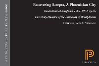 Cover Recovering Sarepta, A Phoenician City