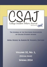 Cover College Student Affairs Journal