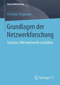 Cover Grundlagen der Netzwerkforschung