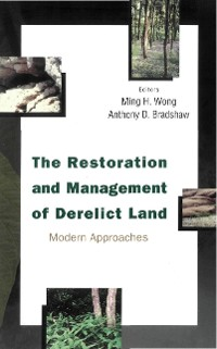 Cover Restoration And Management Of Derelict Land, The: Modern Approaches