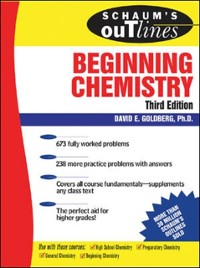 Cover Schaum's Outline of Beginning Chemistry, 3rd ed