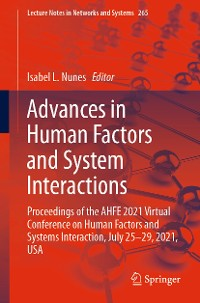 Cover Advances in Human Factors and System Interactions