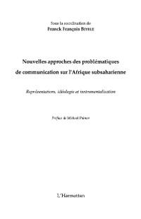 Cover NOUVELLES APPROCHES DES PROBLEMATIQUES DE COMMUNICATION SUR