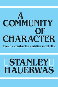 Cover A Community of Character