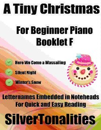 Cover A Tiny Christmas for Beginner Piano Booklet F