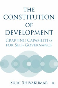 Cover The Constitution of Development