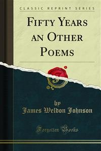 Cover Fifty Years an Other Poems