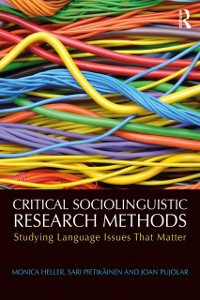 Cover Critical Sociolinguistic Research Methods