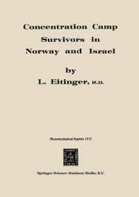 Cover Concentration Camp Survivors in Norway and Israel