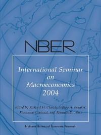 Cover NBER International Seminar on Macroeconomics 2004