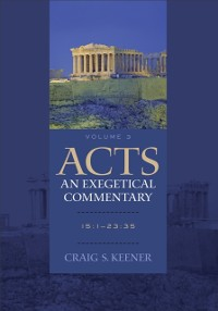 Cover Acts: An Exegetical Commentary : Volume 3