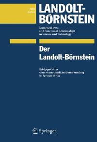 Cover Der Landolt-Börnstein