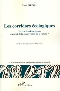 Cover Les corridors ecologiques - vers un troisieme temps du dro