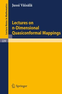 Cover Lectures on n-Dimensional Quasiconformal Mappings