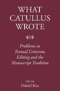 Cover What Catullus Wrote