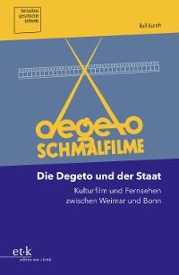 Cover Die Degeto und der Staat
